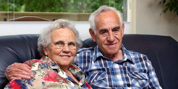 Pensión de jubilación para las personas mayores