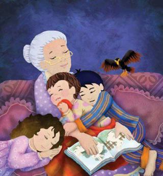 abuela-y-nietos