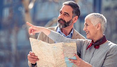 Consejos para viajar con personas mayores, Grupo retiro