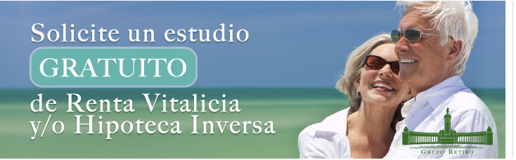 contacto estudio gratuito Renta Vitalicia - Grupo Retiro