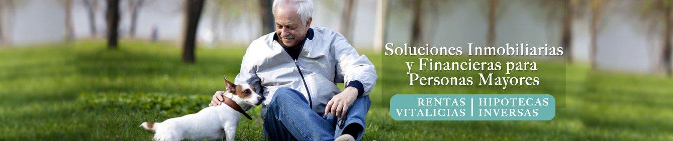 Soluciones inmobiliarias financieras para personas mayores