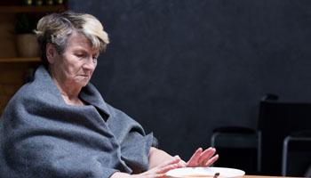 Falta de apetito, personas mayores Grupo retiro