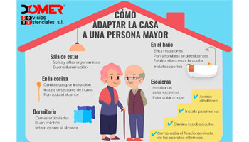 Adaptar la casa a personas mayores, grupo retiro